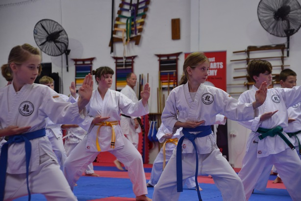 2018 04 28 Grading Beginners to Intermediate Belts 01